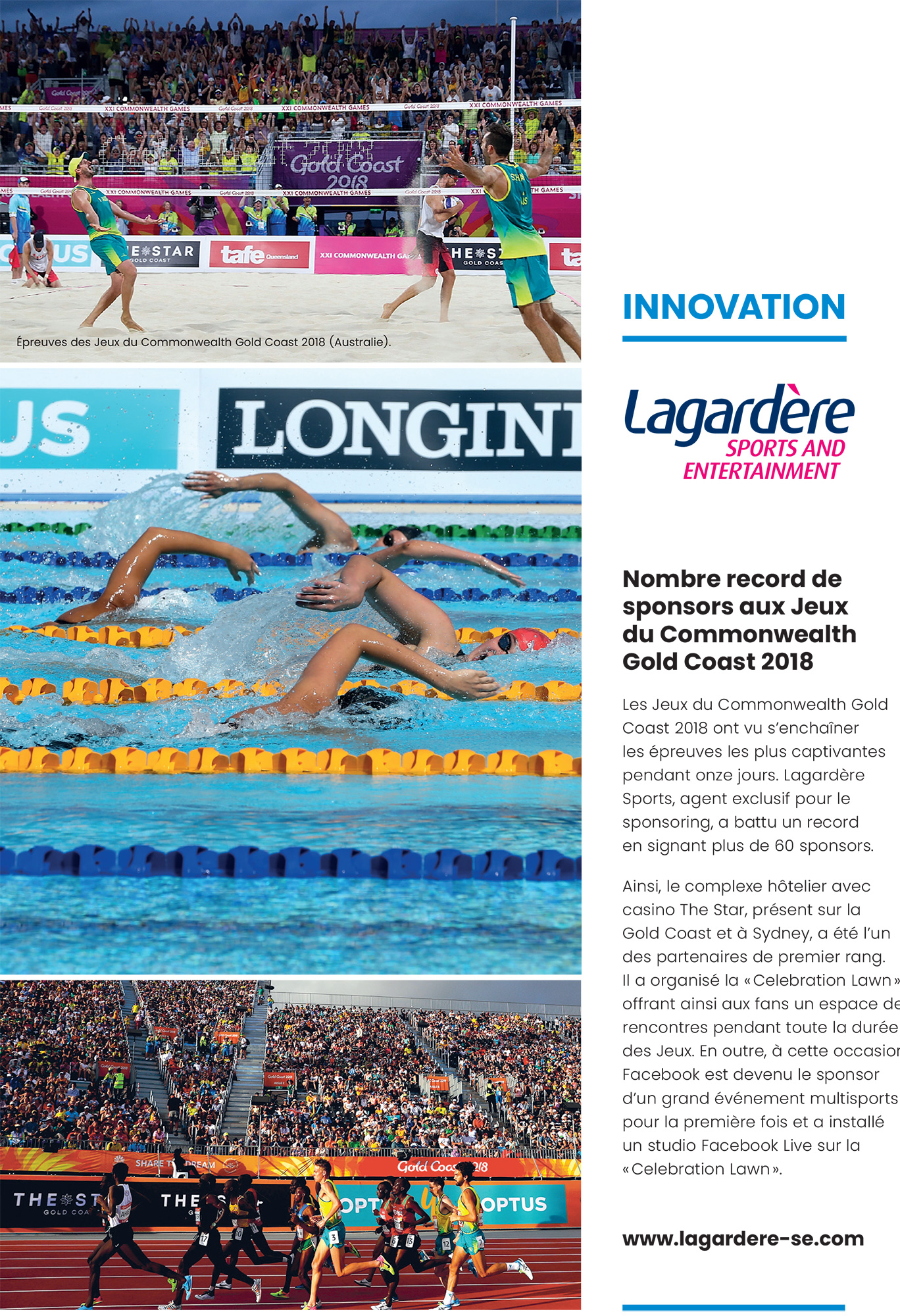 Innovation Lagardère Sports and Entertainment