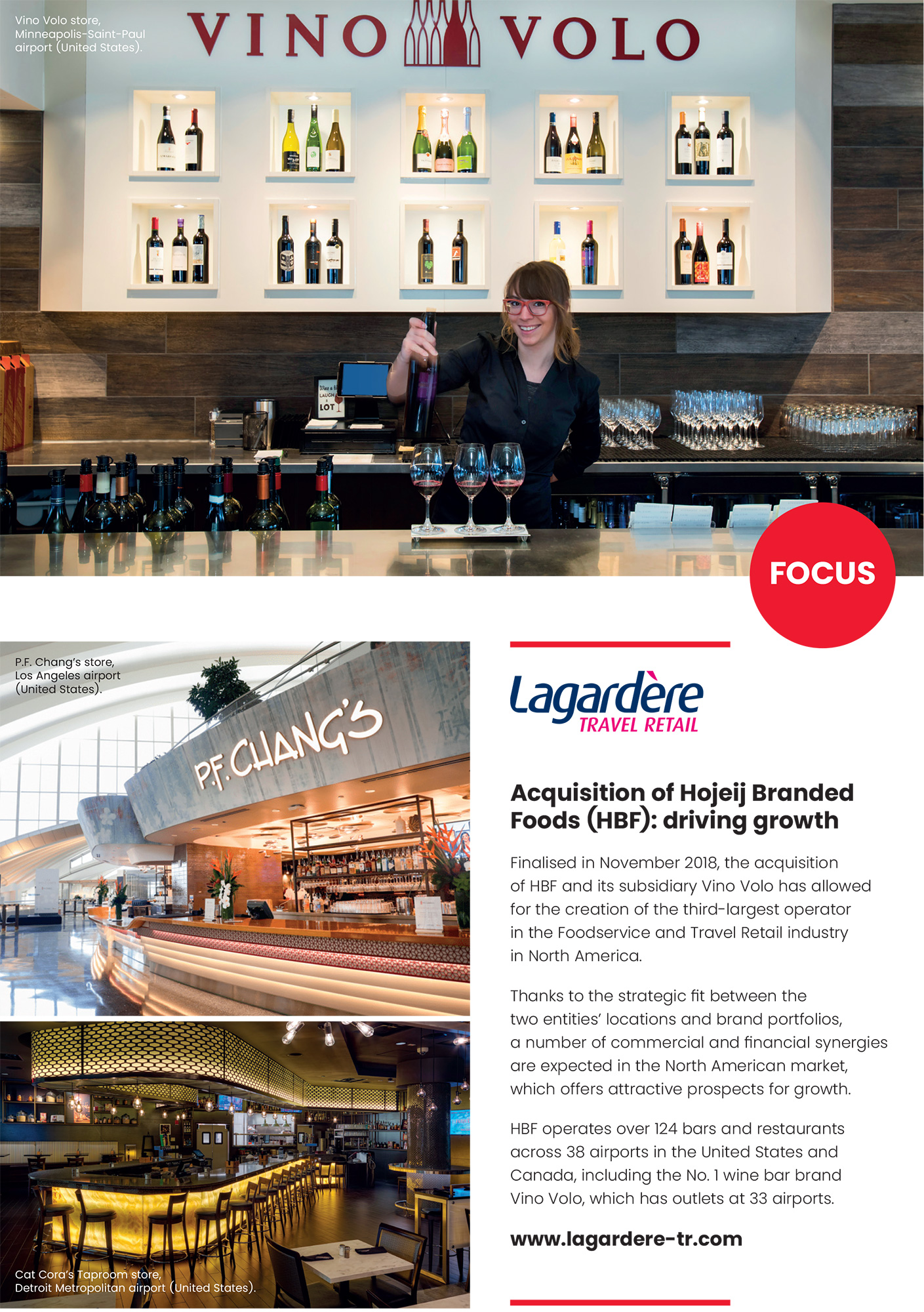Lagardère Travel Retail: Focus