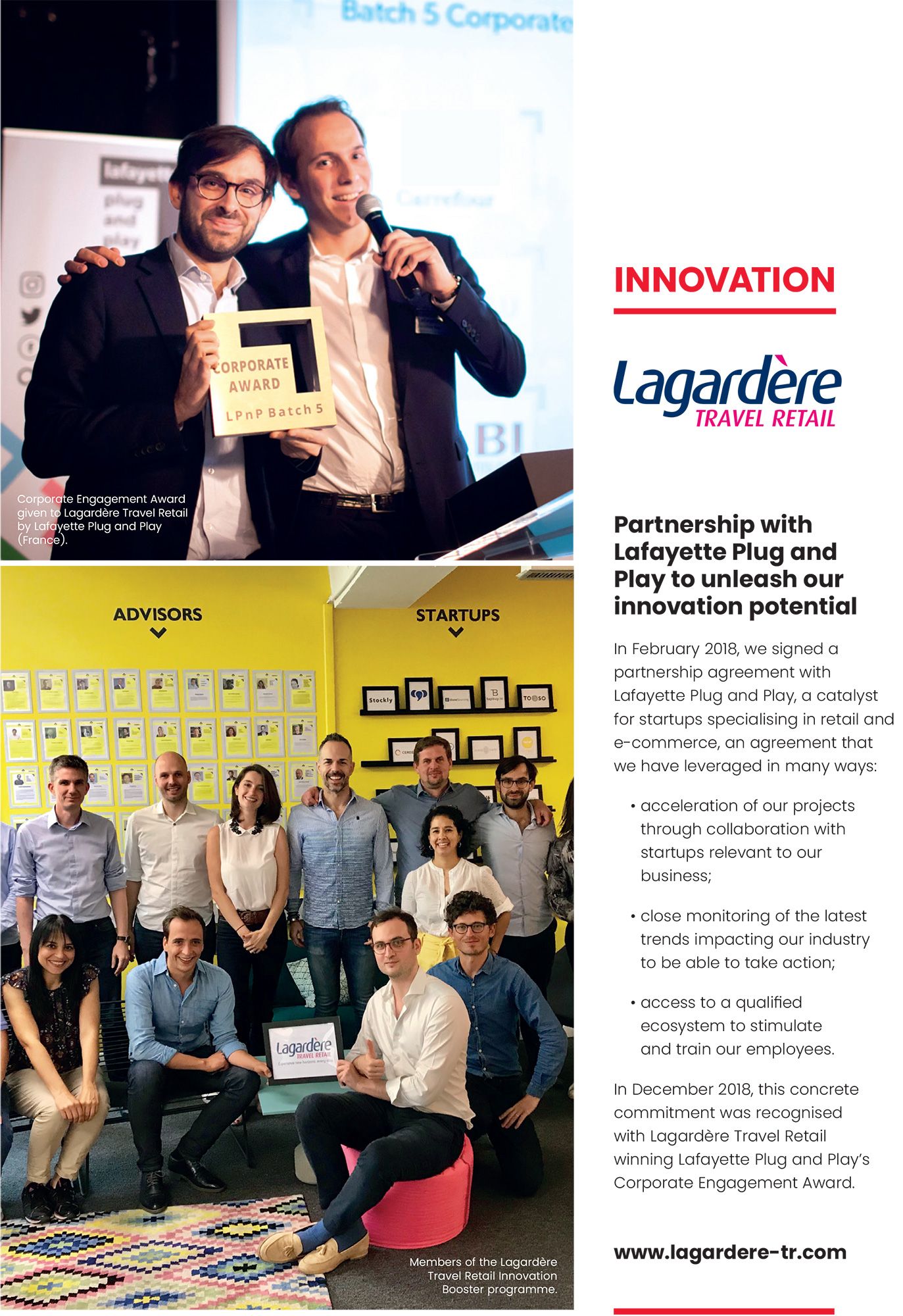 Lagardère Travel Retail: Innovation